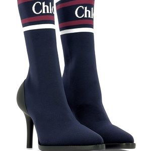 "Chloe ""Tracy"" sock ankle boot"